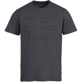 VAUDE Cyclist V T-Shirt Men, iron uni